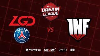 PSG.LGD vs Infamous, DreamLeague Season 11 Major, bo3, game 1 [4ce & Mila]