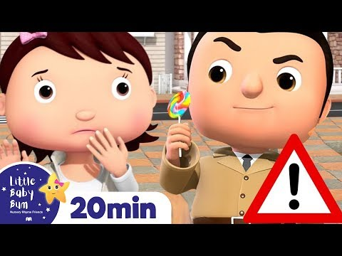 Don't Talk To Strangers Song! | +More Little Baby Bum! Nursery Rhymes & Kids Songs | ABCs and 123s