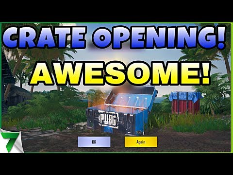 SANHOK GOLDEN CRATE OPENING!! Golden Sand AKM HYPE?!?! | PUBG Mobile (видео)