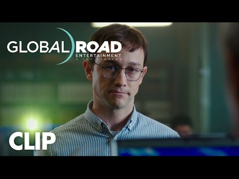 Snowden (Clip 'Aptitude Test')