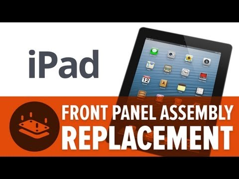 iFixit - Yesterday I was playing real racing 2 on my iPad when I took a sharp turn. Unfortunately, so did my iPad. If your watching this its probably because somethin...