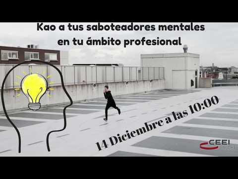 """#JornadaCeei """"KAO a tus Saboteadores Mentales en tu ámbito profesional""""[;;;][;;;]"""