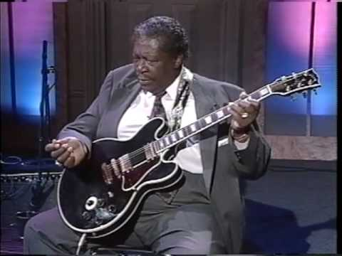 BB King gives us a guitar lesson