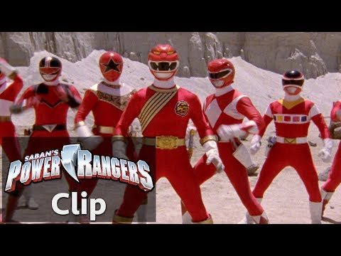 Power Rangers Wild Force | Forever Red Fight