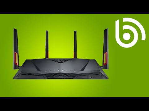 ASUS RT-AC88U Dual-Band WiFi AC Router Introduction