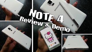 Samsung Galaxy Note 4 Review | Fingerprint Technology | Selfie Taker