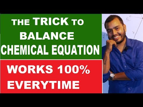 How To BALANCE Any CHEMICAL EQUATION 01 | Best Way To Balance Chemical Equation|