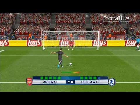 PES 2017 | Arsenal vs Chelsea FC | Penalty Shootout | Gameplay PC