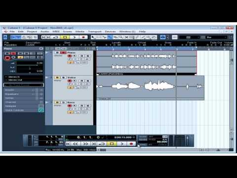 Cubase 5 Tutorial – Lesson 19: Basic Editing Part I