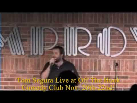 Tom Segura Live at Off The Hook Comedy Club!