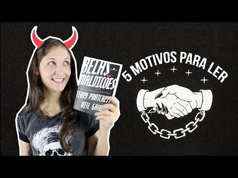 5 MOTIVOS PARA LER BELAS MALDIÇÕES (NEIL GAIMAN + TERRY PRATCHETT) | Pipoca Musical