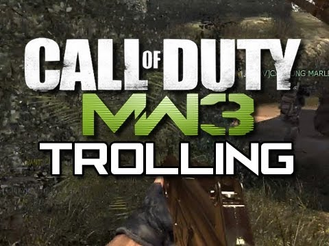 MW3 Trolling - YOU'RE GETTING BANNED DUMMY!