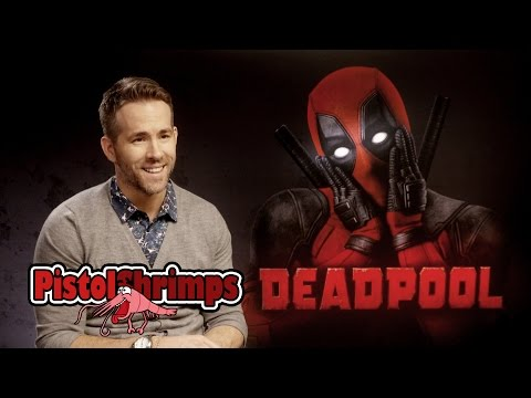 PistolShrimps Interview Deadpool Stars Ryan Reynolds and TJ
