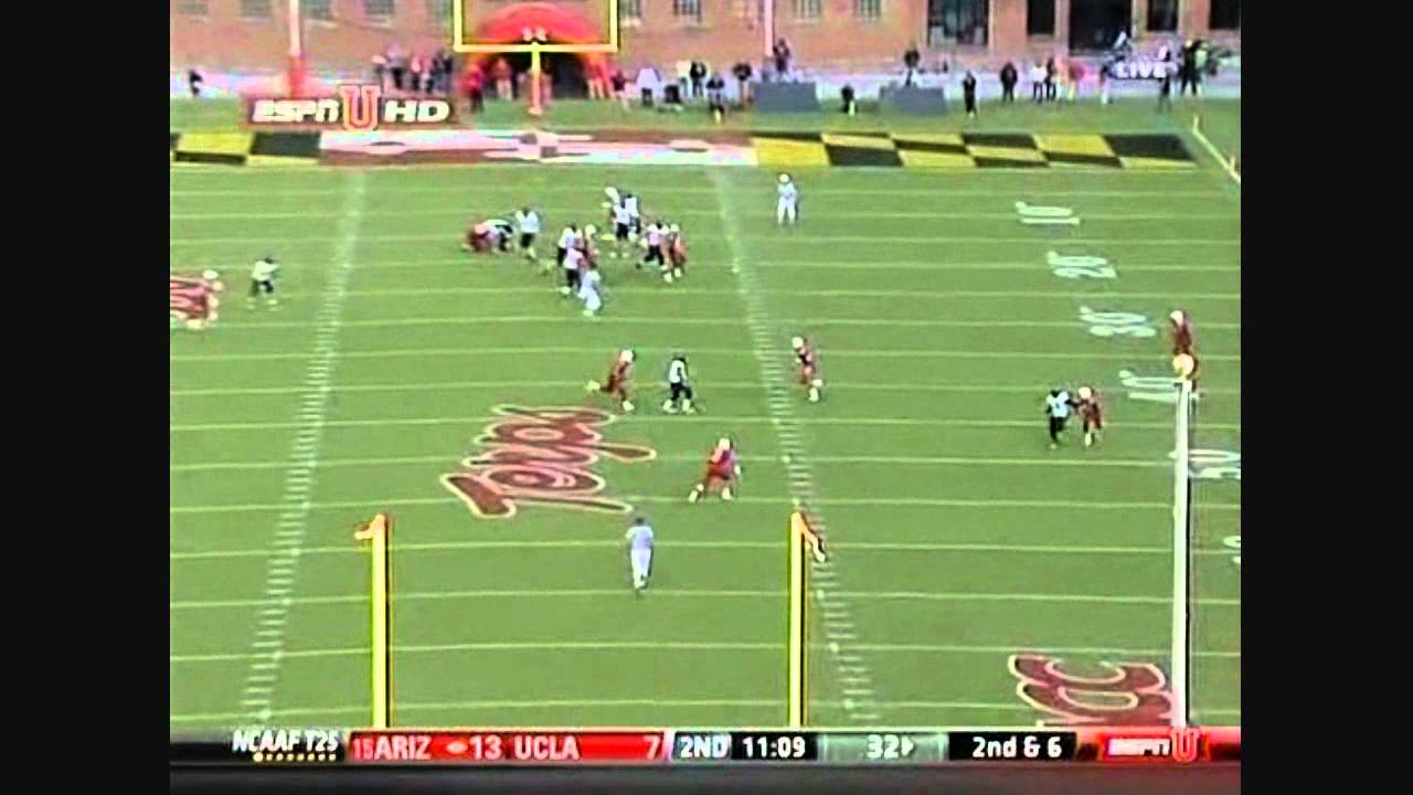 Kenny Tate vs Wake Forest (2010)