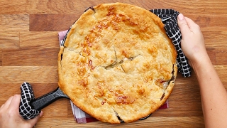 One-Skillet Chicken Pot Pie by Tasty
