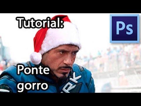 Tutorial de Photoshop: ¡Ponte el gorro de Santa!