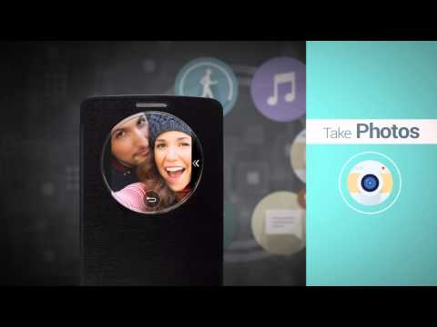 LG G3 - prezentacja QuickCircle Case