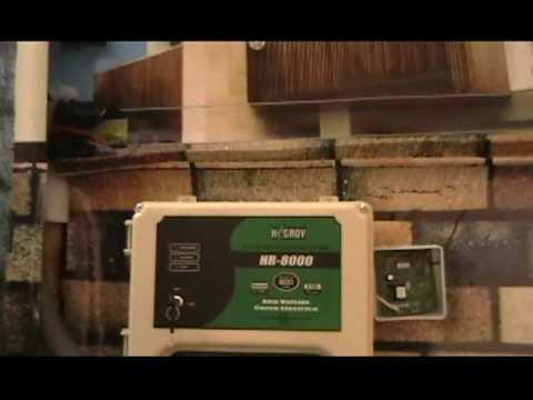 ENERGIZADORES - ELECTRIFICADORES HR 8000 HAGROY