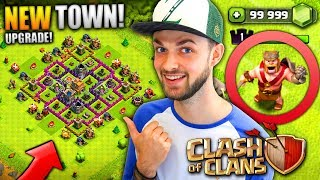 Video MY NEW TOWN HALL! (+ NEW HERO!) - Clash Of Clans MP3, 3GP, MP4, WEBM, AVI, FLV Oktober 2017