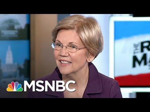 Elizabeth Warren Endorses Hillary Clinton For President: 'I'm Ready'   Rachel Maddow   MSNBC