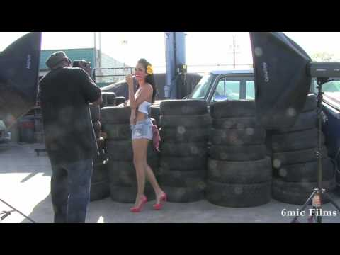Daisy Marie Behind The Scenes Shoot | Campbell Aka Snapshot1 | 6mic Films