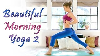 Beginners Morning Yoga For Energy - 20 Minute Workout Stretch & Flexibility Routine - YouTube