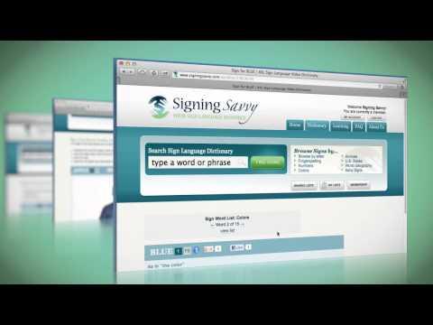 Video of Signing Savvy Member App