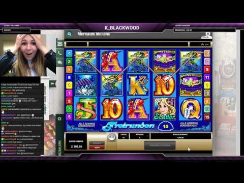 Mermaids Millions decent 211x win 7,50€ bet :D