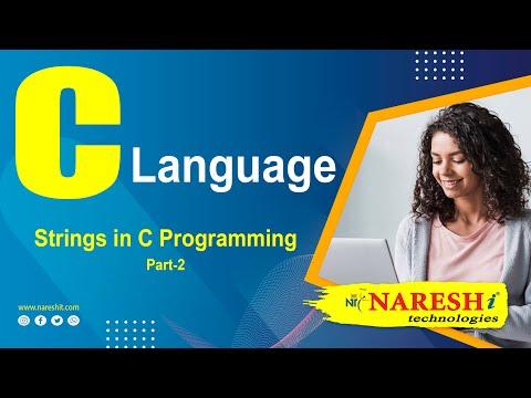 Strings in C Programming | Part-1 | C Language Tutorial