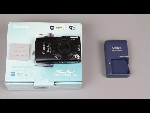 Canon PowerShot ELPH 330 HS Unboxing
