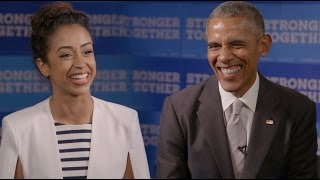Video BARACK OBAMA INTERVIEWS LIZA KOSHY MP3, 3GP, MP4, WEBM, AVI, FLV November 2018