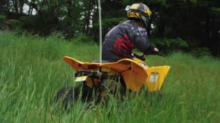 2. Jimmy rides his CanAm DS70 ATV - Schools Out