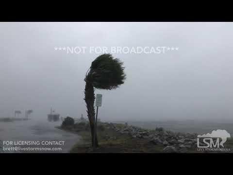 10-10-18 Port St. Joe, Florida Hurricane Conditions - Canopies Shredding - Sail Boats Rocking_A héten feltöltött legjobb vitorlázás videók