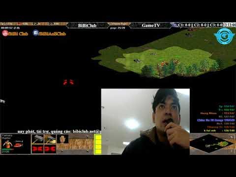 AOE | 4vs4 Random BiBi Club vs GameTV Ngày 22 11 2017.BLV: Có Bình Luận