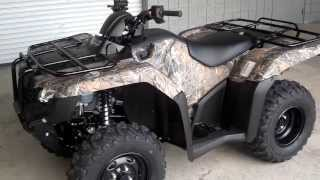 4. 2014 Rancher AT DCT SALE / Honda of Chattanooga TN // Camo 2014 TRX420FA2E Rancher 4x4 Automatic