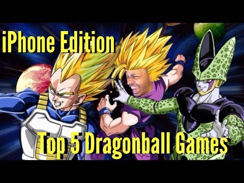 Top 5 Dragonball Z Games For iPhone / iPad Android