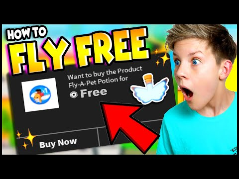 How To FLY FOR FREE in Adopt Me HACKS!! 100% WORKS!! Prezley
