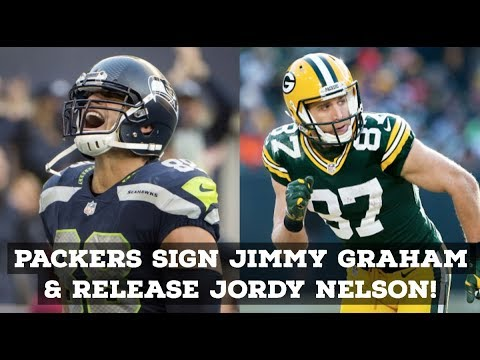 Green Bay Packers Sign Jimmy Graham But Release Jordy Nelson! Reaction & Full Analysis!