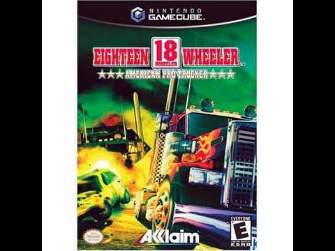 18 wheeler - american pro trucker nintendo gamecube rom
