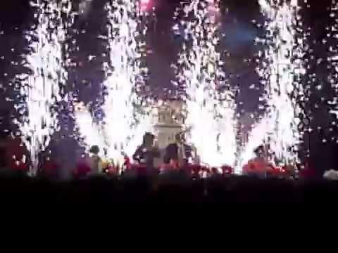 Korda gála tűzijátékkal