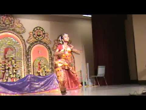 Bharatnatyam: kanchadalayadakshi Kamakshi