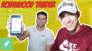 Teaching My Friend How To Trade Penny Stocks In 30 Mins | Robinhood Trader