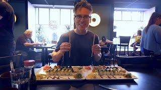 Bouldering Days, Frustration. Tweaked Finger and Sushi! by Eric Karlsson Bouldering