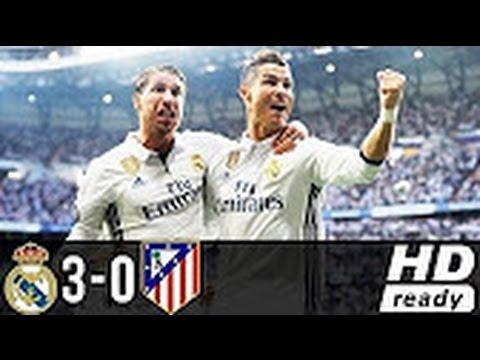 Real Madrid vs Atletico Madrid  3-0  All Goals & Highlights. UEFA Champions League 02-05-2017 HD