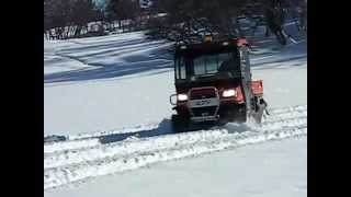 5. Kubota Turbo RTV Souci Tracks Winter