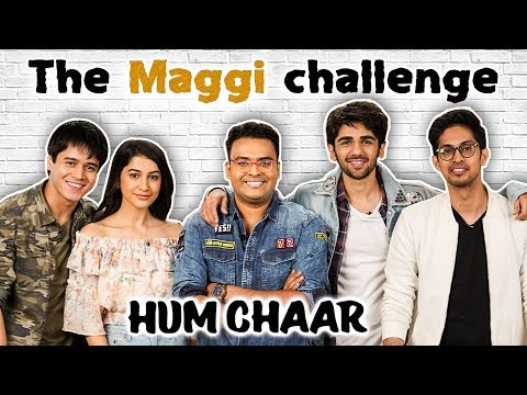 Spicy Maggi Challenge With The Hum Chaar Cast & Varun Inamdar