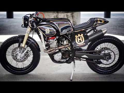 2017 ZDR Custom Moto Husqvarna TE510 (Dirt Bike) customized Café Racer by Rocker07pt