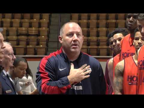 Men's Basketball Veteran's Day Recognition