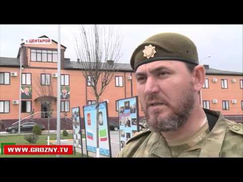 В Гудермесском и Курчалоевском районах бойцы спецподразделений провели марш военной техники - DomaVideo.Ru