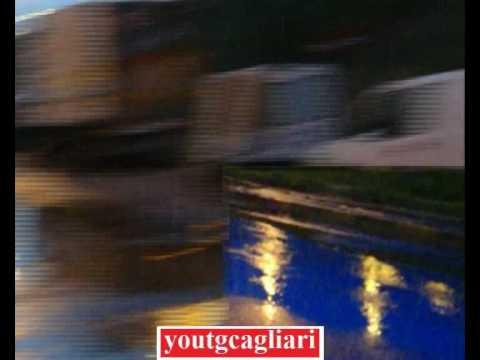 Alrededores del estadio Sant Elia, en mal estado